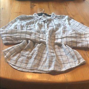 Gauze light weight blouse